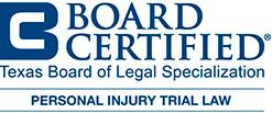 board certified in personal injury law